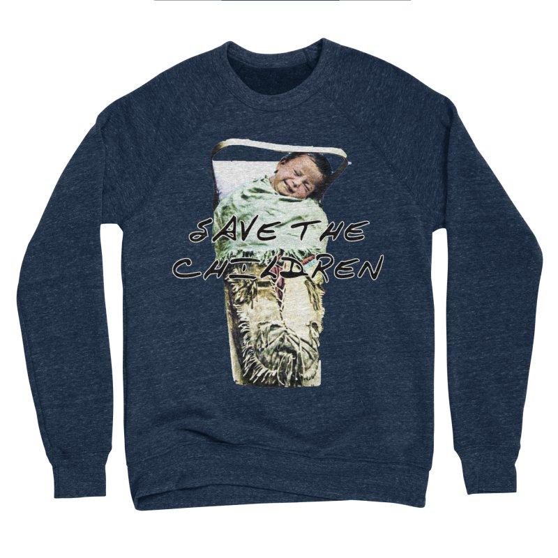 Save the Children Men's Sponge Fleece Sweatshirt by BLACK TVRTLE NECK