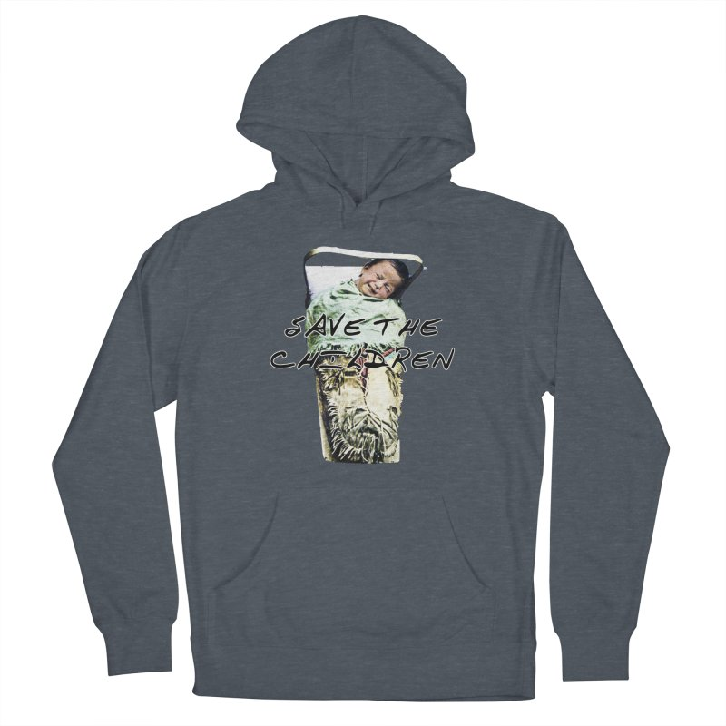 Save the Children Men's Pullover Hoody by BLACK TVRTLE NECK