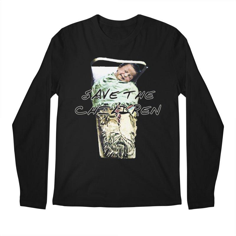Save the Children Men's Longsleeve T-Shirt by BLACK TVRTLE NECK