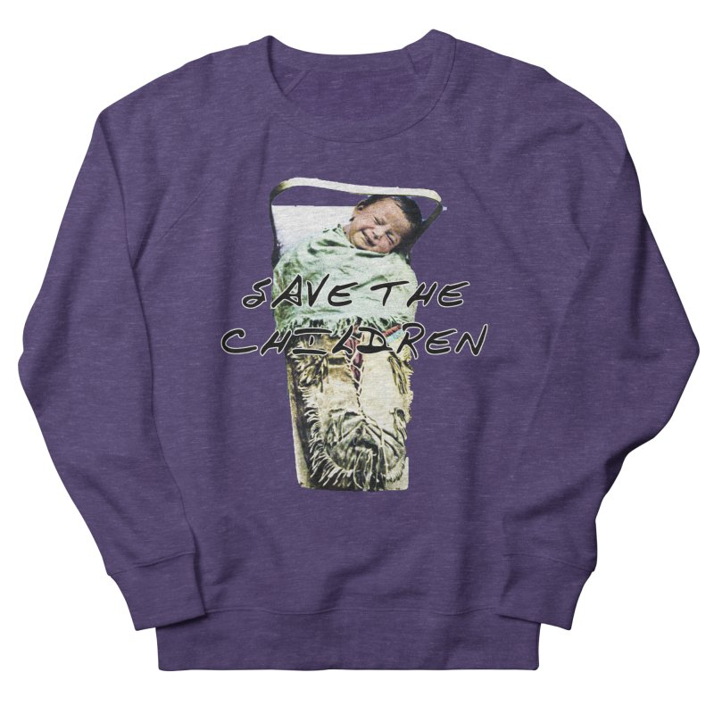 Save the Children Men's Sweatshirt by BLACK TVRTLE NECK