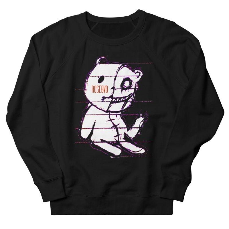 ROSEBVD Men's French Terry Sweatshirt by BLACK TVRTLE NECK