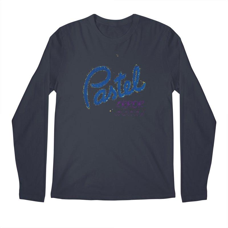 Pastel Error Men's Longsleeve T-Shirt by BLACK TVRTLE NECK