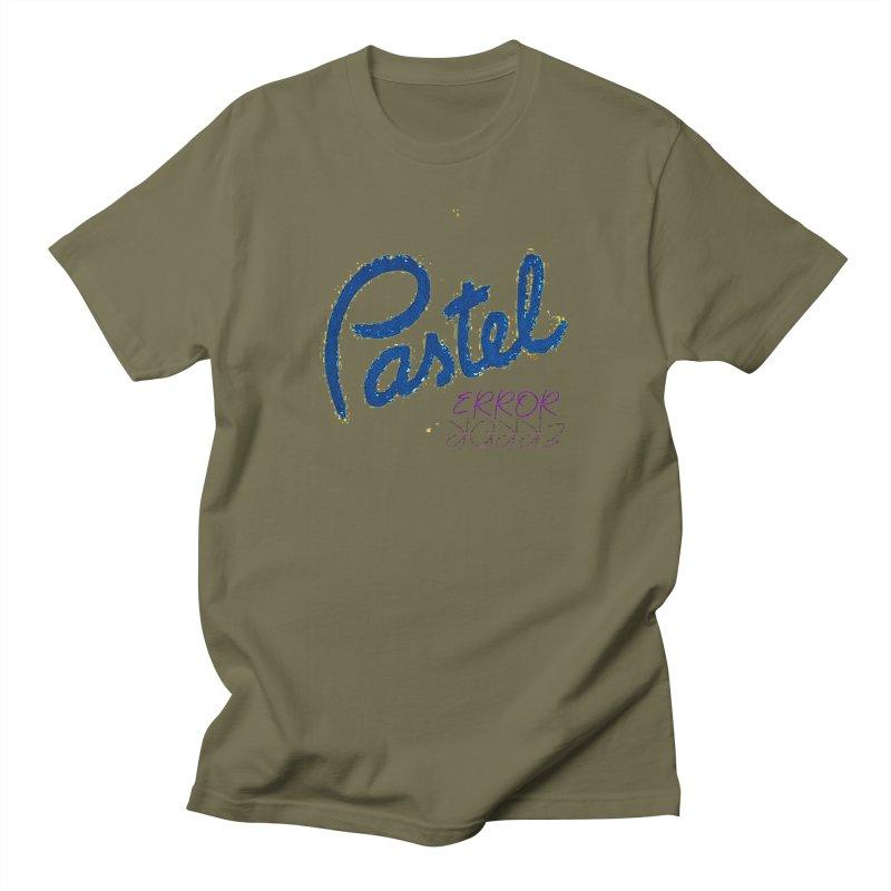 Pastel Error Men's T-Shirt by BLACK TVRTLE NECK