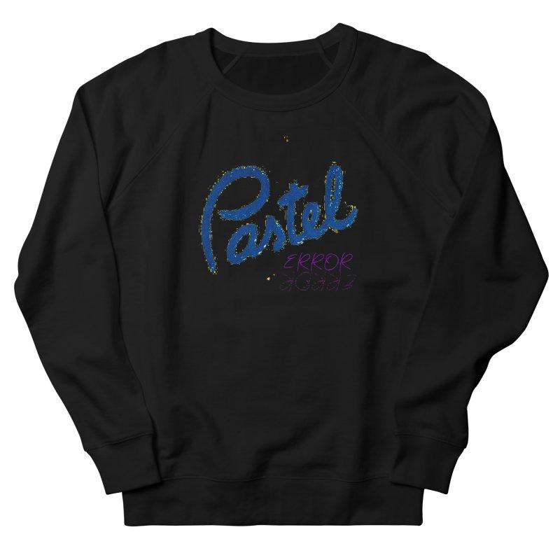 Pastel Error Men's Sweatshirt by BLACK TVRTLE NECK