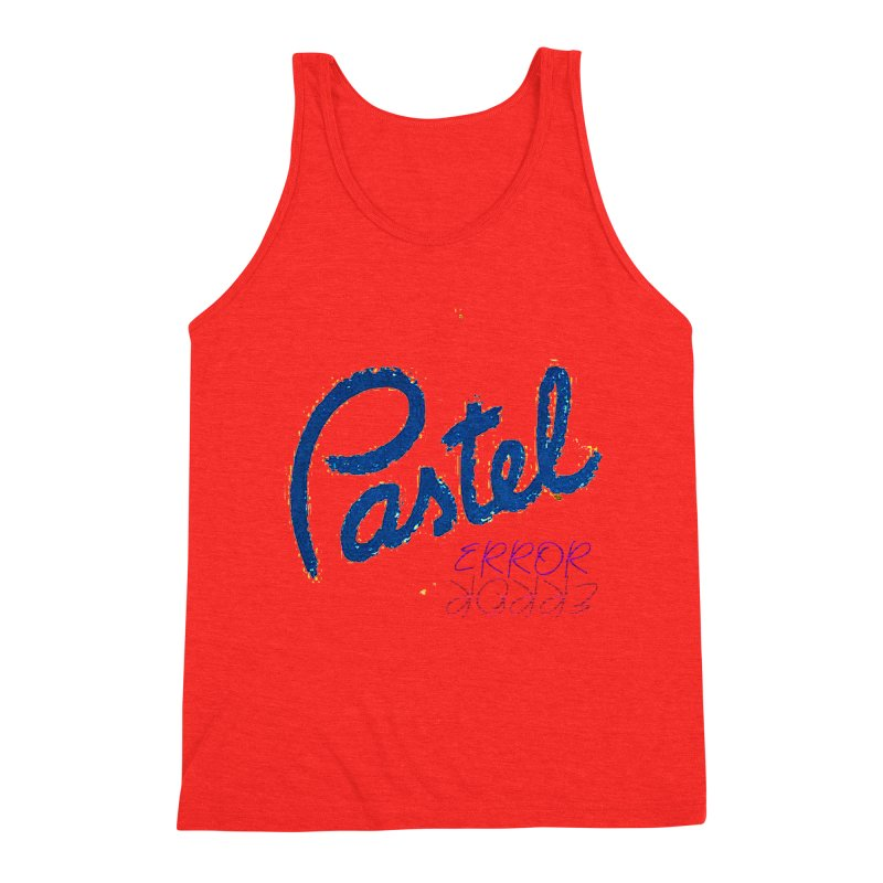 Pastel Error Men's Tank by BLACK TVRTLE NECK