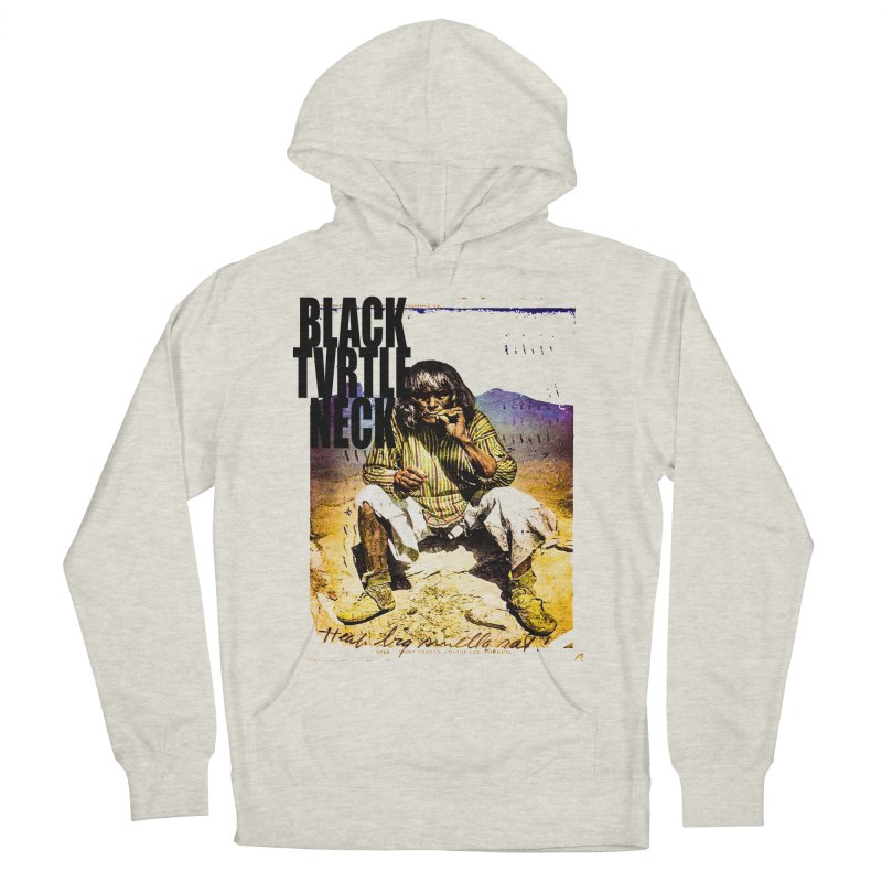 Indigenous Women's French Terry Pullover Hoody by BLACK TVRTLE NECK