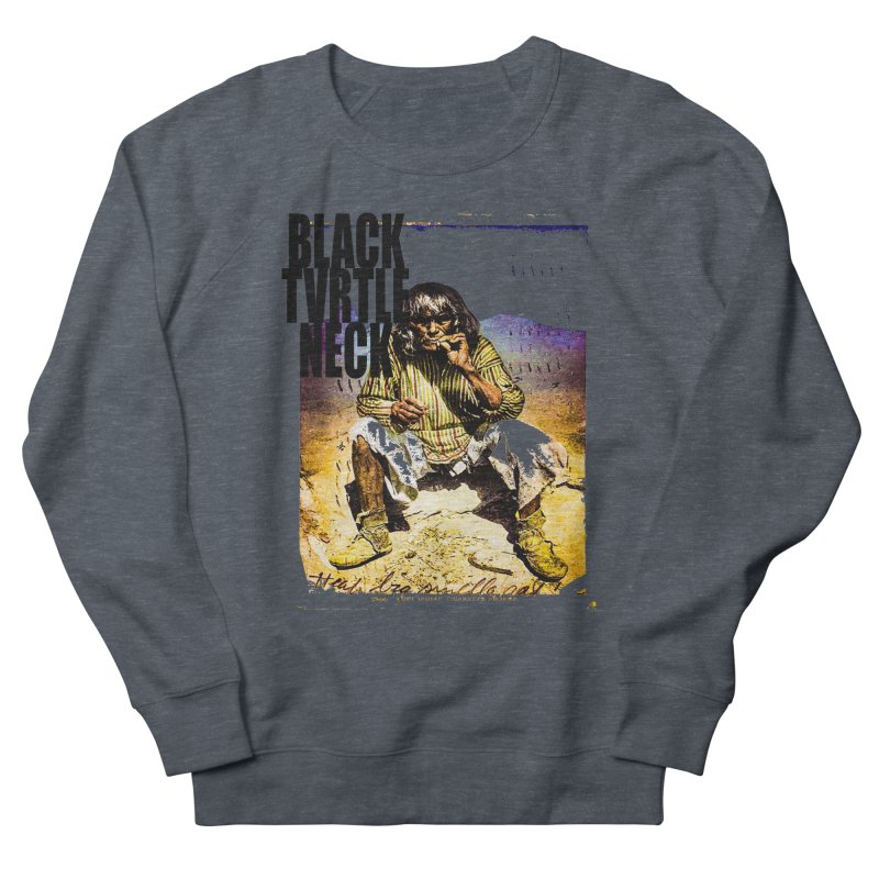 Indigenous Women's French Terry Sweatshirt by BLACK TVRTLE NECK