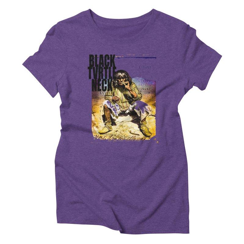Indigenous Women's Triblend T-Shirt by BLACK TVRTLE NECK