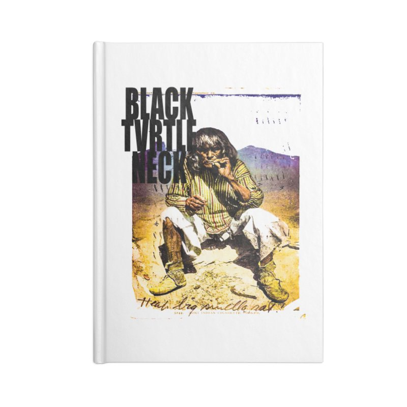 Indigenous Accessories Blank Journal Notebook by BLACK TVRTLE NECK