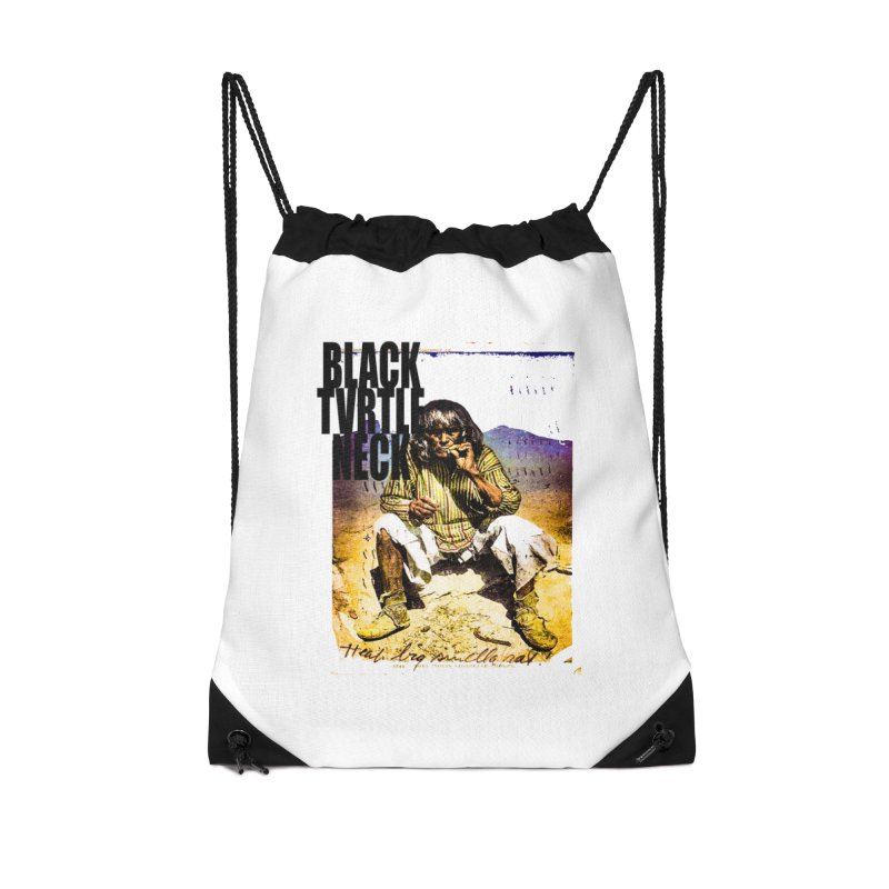 Indigenous Accessories Drawstring Bag Bag by BLACK TVRTLE NECK