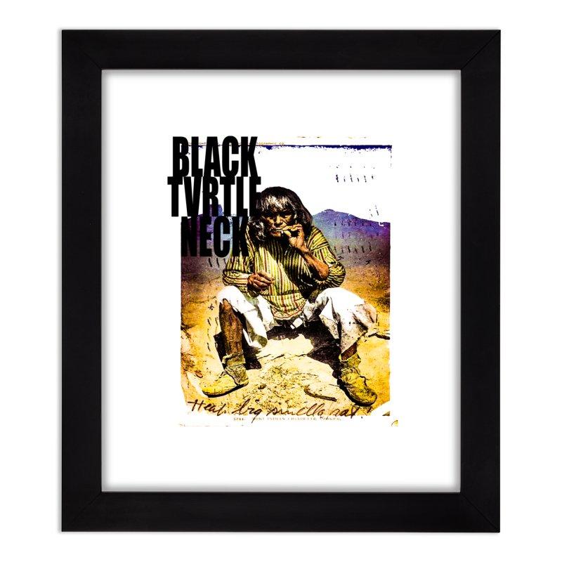 Indigenous Home Framed Fine Art Print by BLACK TVRTLE NECK