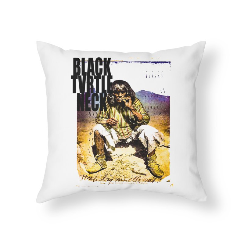 Indigenous Home Throw Pillow by BLACK TVRTLE NECK
