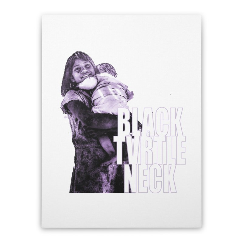 Sister Home Stretched Canvas by BLACK TVRTLE NECK