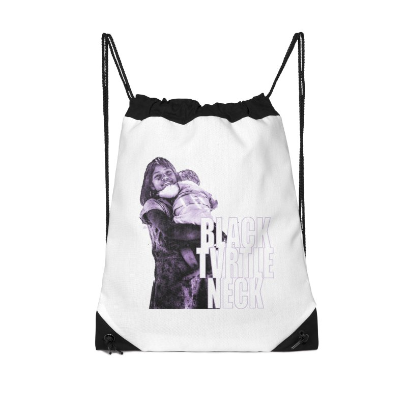 Sister Accessories Drawstring Bag Bag by BLACK TVRTLE NECK
