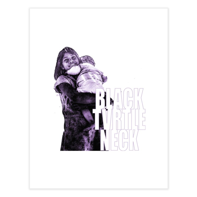 Sister Home Fine Art Print by BLACK TVRTLE NECK