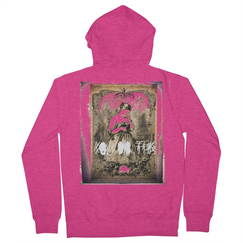 You Did This Women's Zip-Up Hoody by BLACK TVRTLE NECK