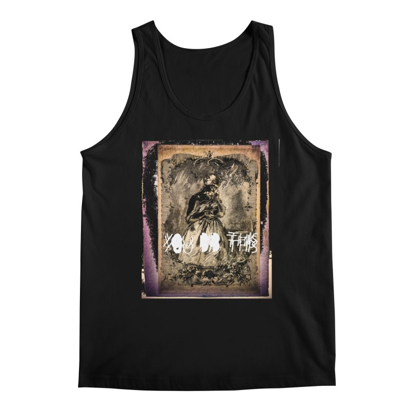 You Did This Men's Regular Tank by BLACK TVRTLE NECK