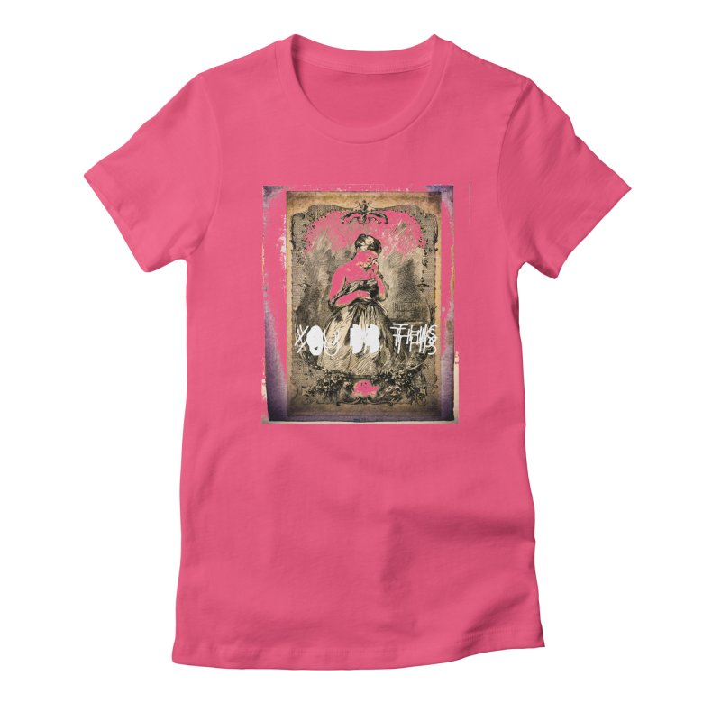 You Did This Women's Fitted T-Shirt by BLACK TVRTLE NECK