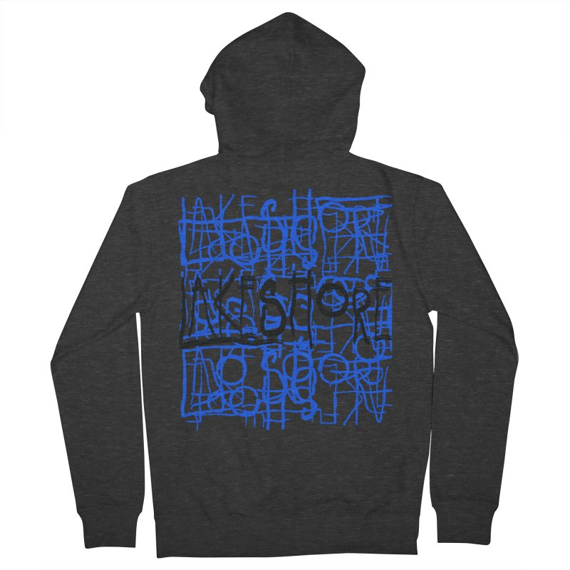 Lakeshore IV Men's French Terry Zip-Up Hoody by BLACK TVRTLE NECK