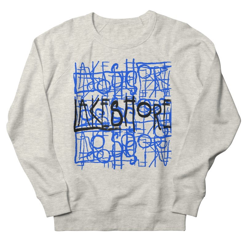 Lakeshore IV Men's French Terry Sweatshirt by BLACK TVRTLE NECK
