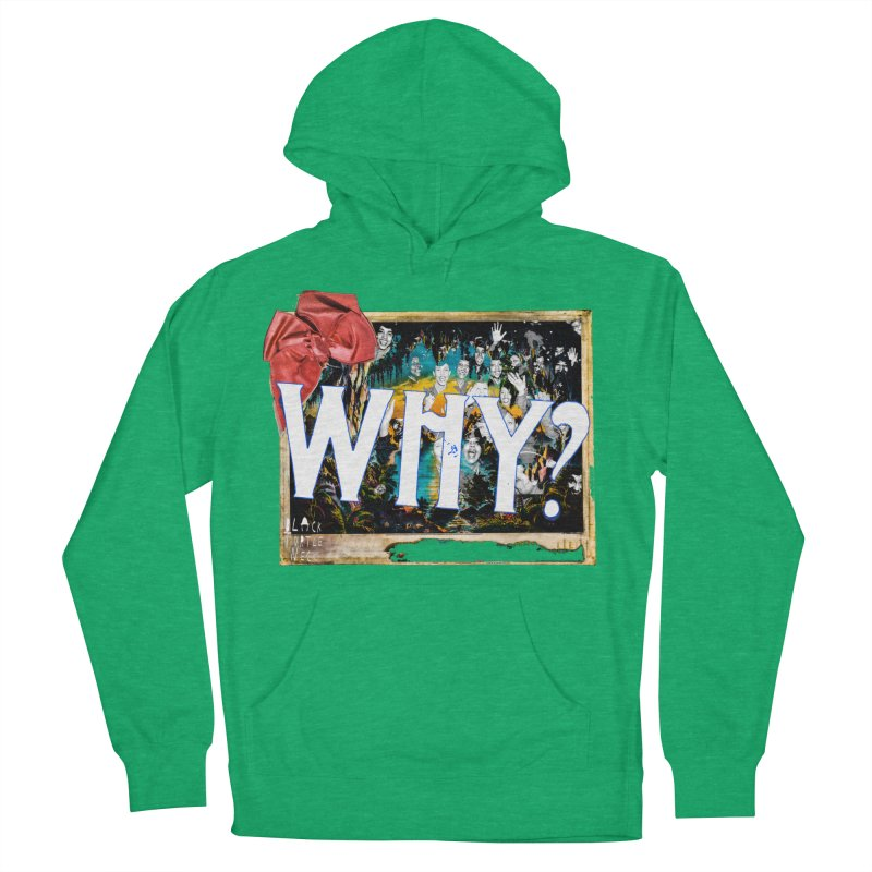 WHY Men's Pullover Hoody by BLACK TVRTLE NECK