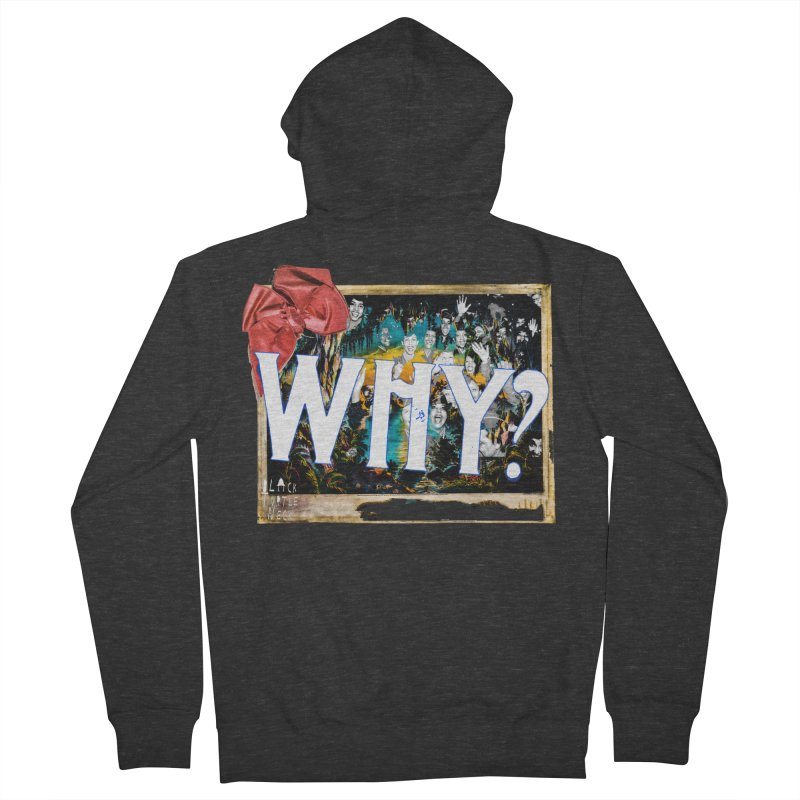 WHY Men's French Terry Zip-Up Hoody by BLACK TVRTLE NECK