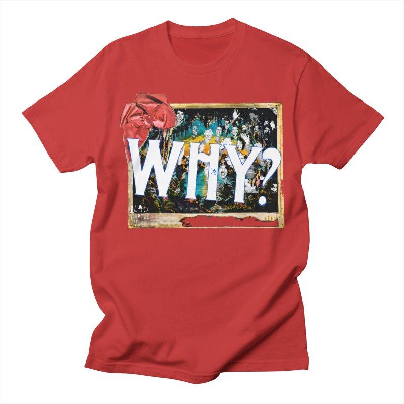 WHY Men's Regular T-Shirt by BLACK TVRTLE NECK