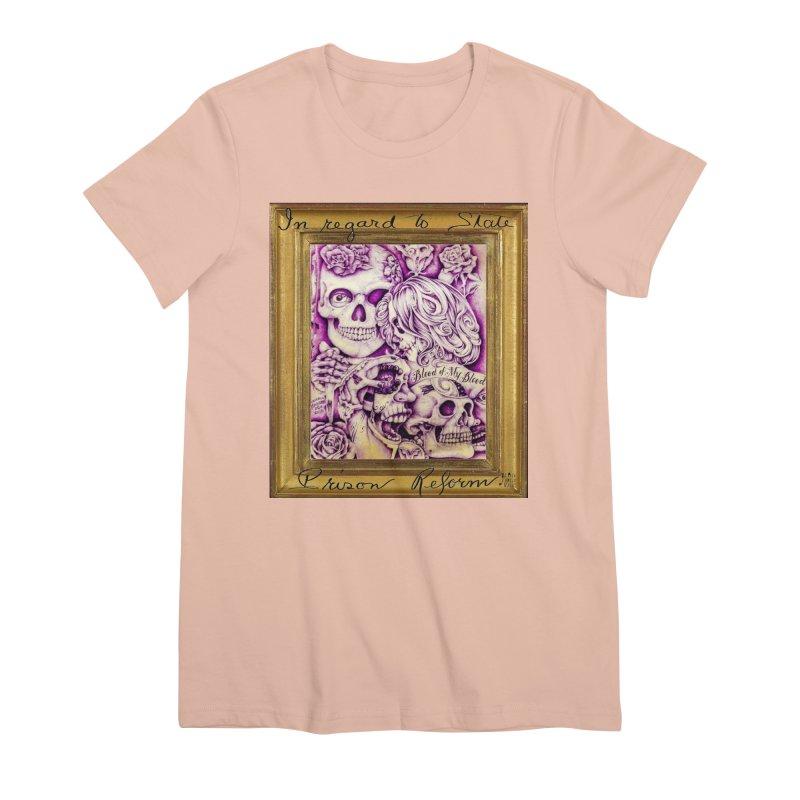 CHIVO Women's Premium T-Shirt by BLACK TVRTLE NECK