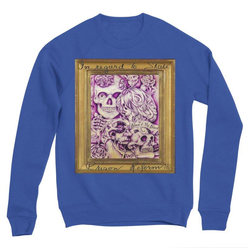 CHIVO Men's Sponge Fleece Sweatshirt by BLACK TVRTLE NECK