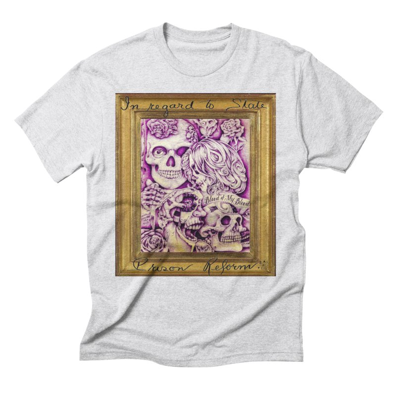 CHIVO Men's Triblend T-Shirt by BLACK TVRTLE NECK