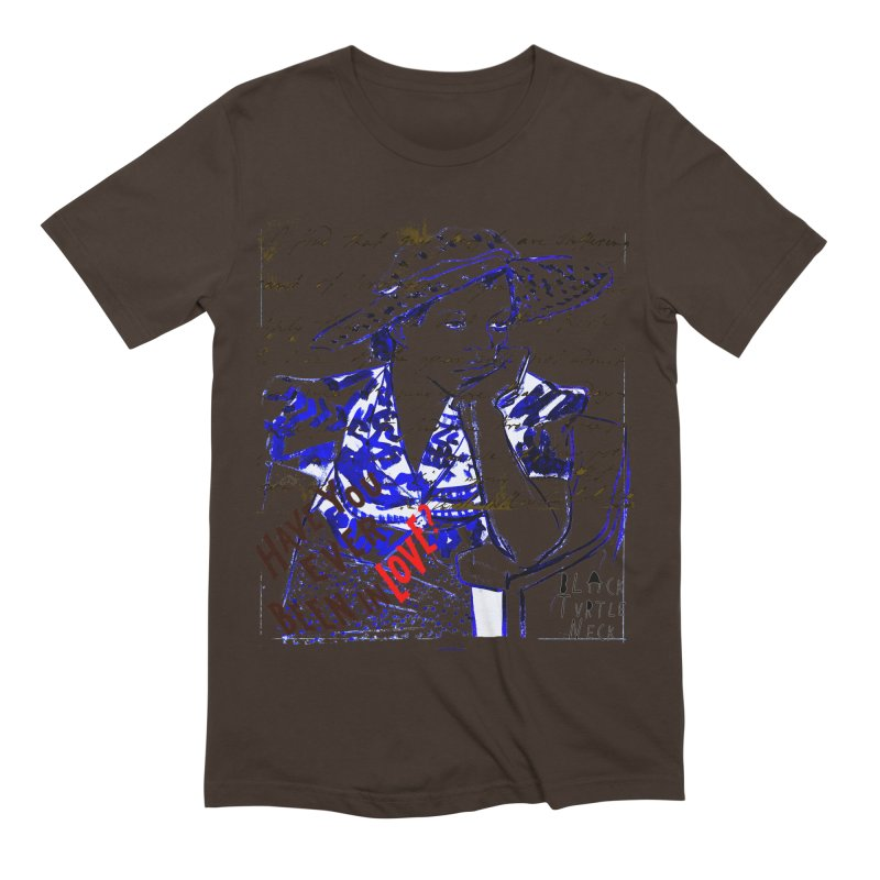 Have You? Men's T-Shirt by BLACK TVRTLE NECK