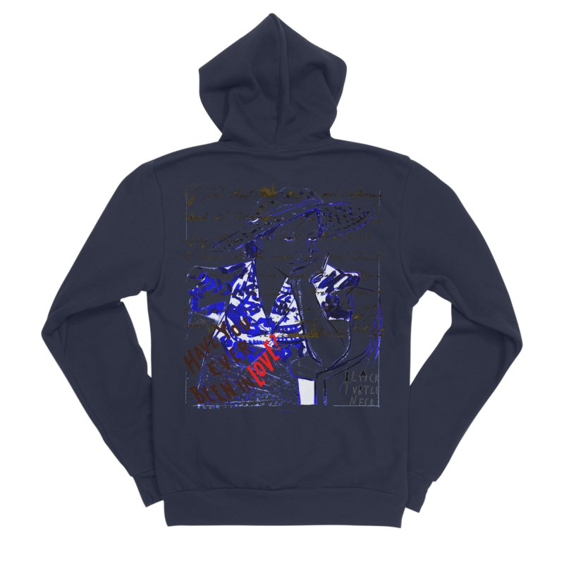 Have You? Men's Zip-Up Hoody by BLACK TVRTLE NECK