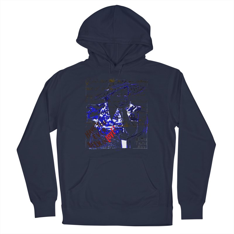Have You? Men's Pullover Hoody by BLACK TVRTLE NECK
