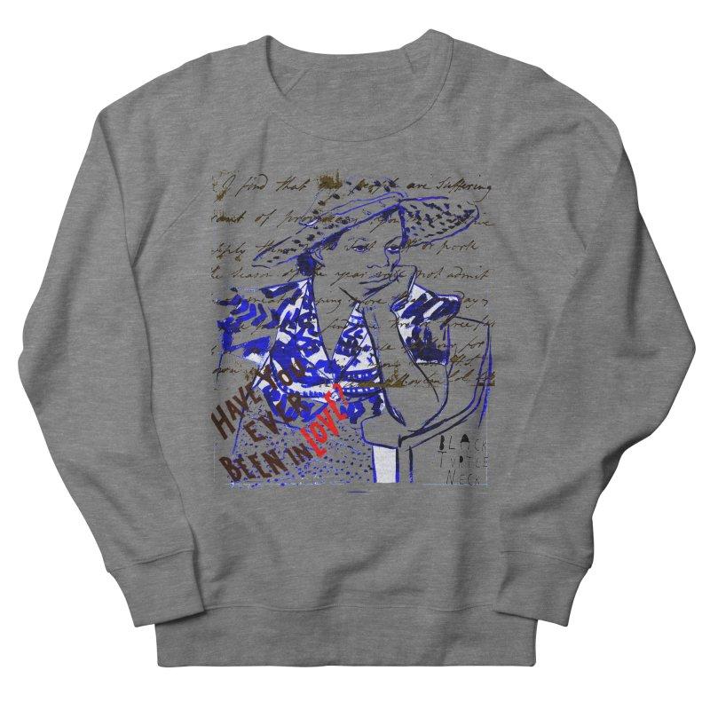 Have You? Men's Sweatshirt by BLACK TVRTLE NECK