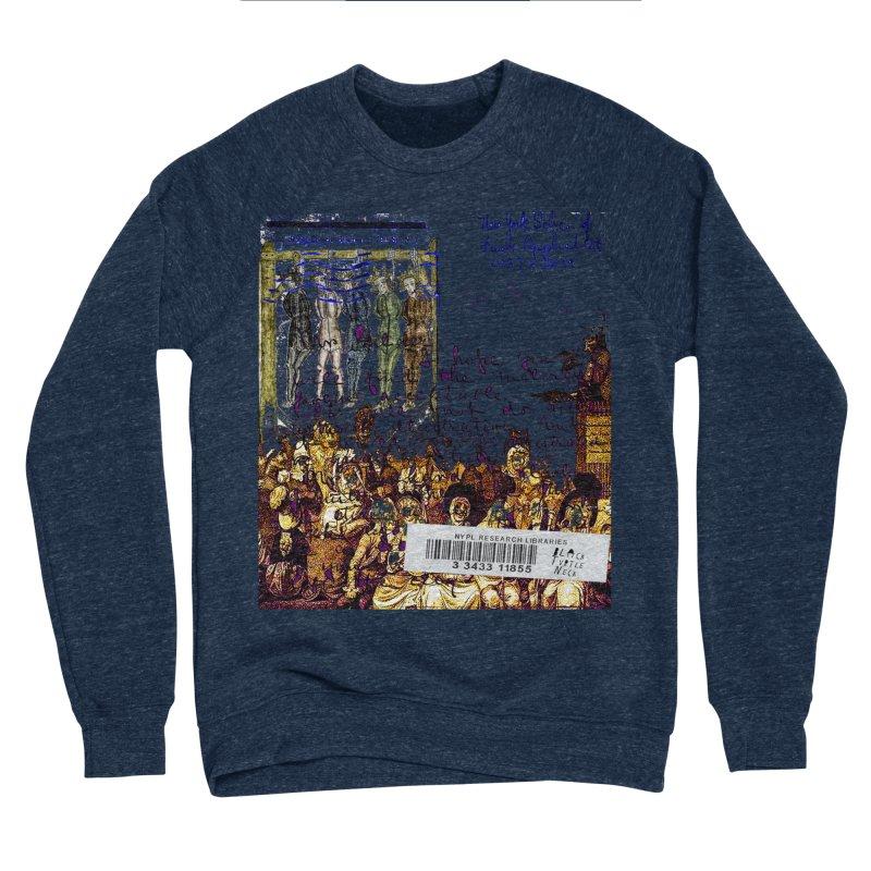 Overdue Library Book Men's Sponge Fleece Sweatshirt by BLACK TVRTLE NECK