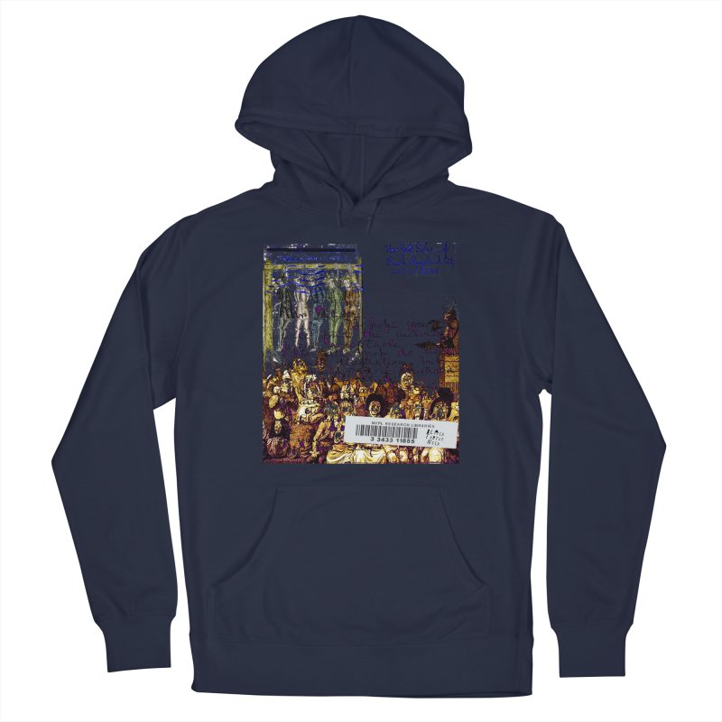 Overdue Library Book Men's Pullover Hoody by BLACK TVRTLE NECK