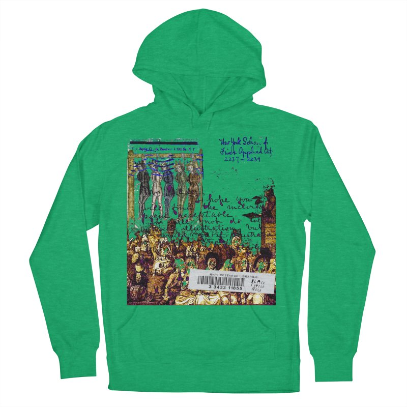 Overdue Library Book Men's French Terry Pullover Hoody by BLACK TVRTLE NECK