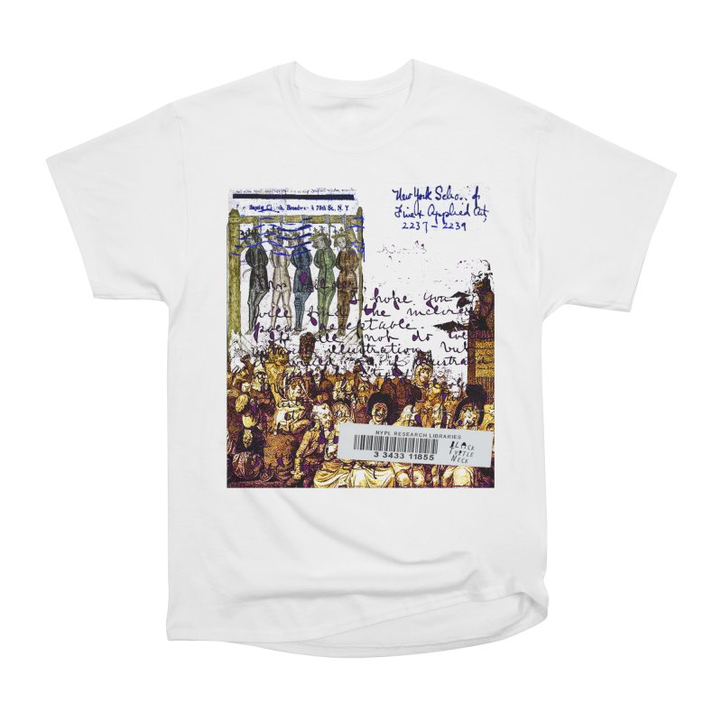 Overdue Library Book Men's T-Shirt by BLACK TVRTLE NECK