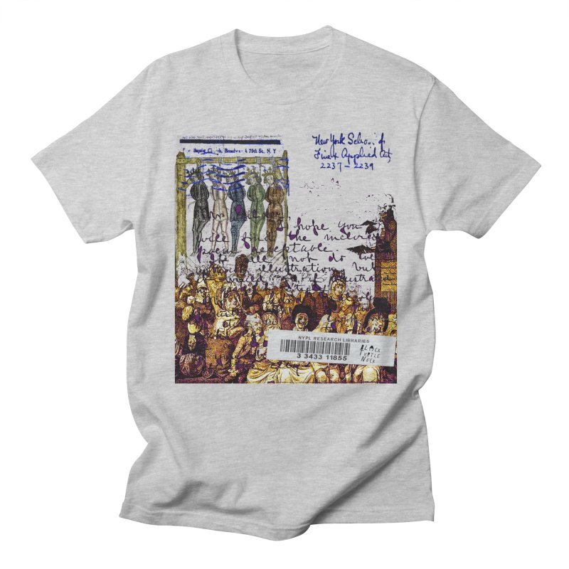 Overdue Library Book Men's Regular T-Shirt by BLACK TVRTLE NECK