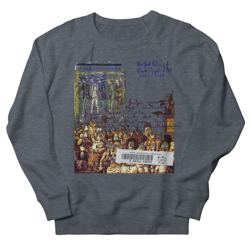 Overdue Library Book Men's Sweatshirt by BLACK TVRTLE NECK