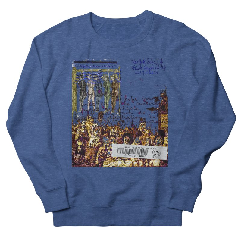 Overdue Library Book Men's Sweatshirt by BLACK TVRTLE NECK