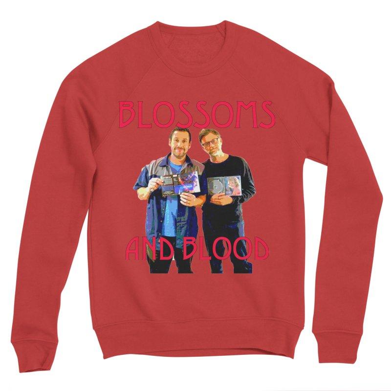 Heroes Men's Sponge Fleece Sweatshirt by BLACK TVRTLE NECK