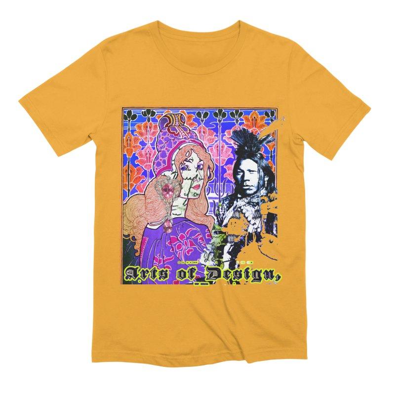 Arts of Design Men's T-Shirt by BLACK TVRTLE NECK