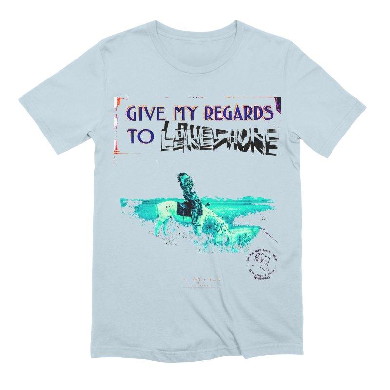 Regards Men's Extra Soft T-Shirt by BLACK TVRTLE NECK