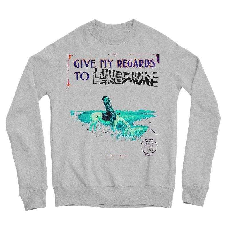 Regards Men's Sweatshirt by BLACK TVRTLE NECK