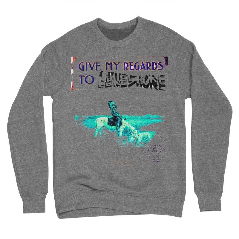 Regards Men's Sponge Fleece Sweatshirt by BLACK TVRTLE NECK