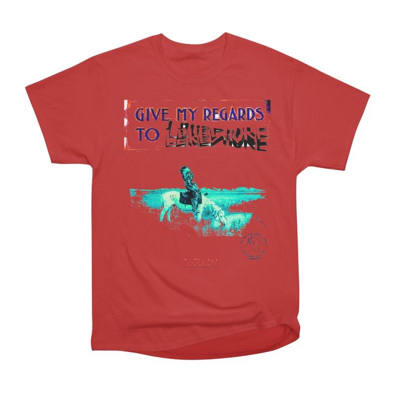 Regards Men's Heavyweight T-Shirt by BLACK TVRTLE NECK