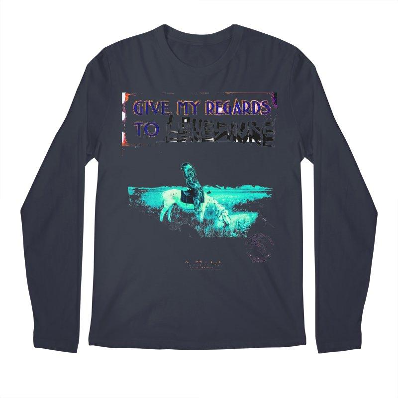 Regards Men's Longsleeve T-Shirt by BLACK TVRTLE NECK