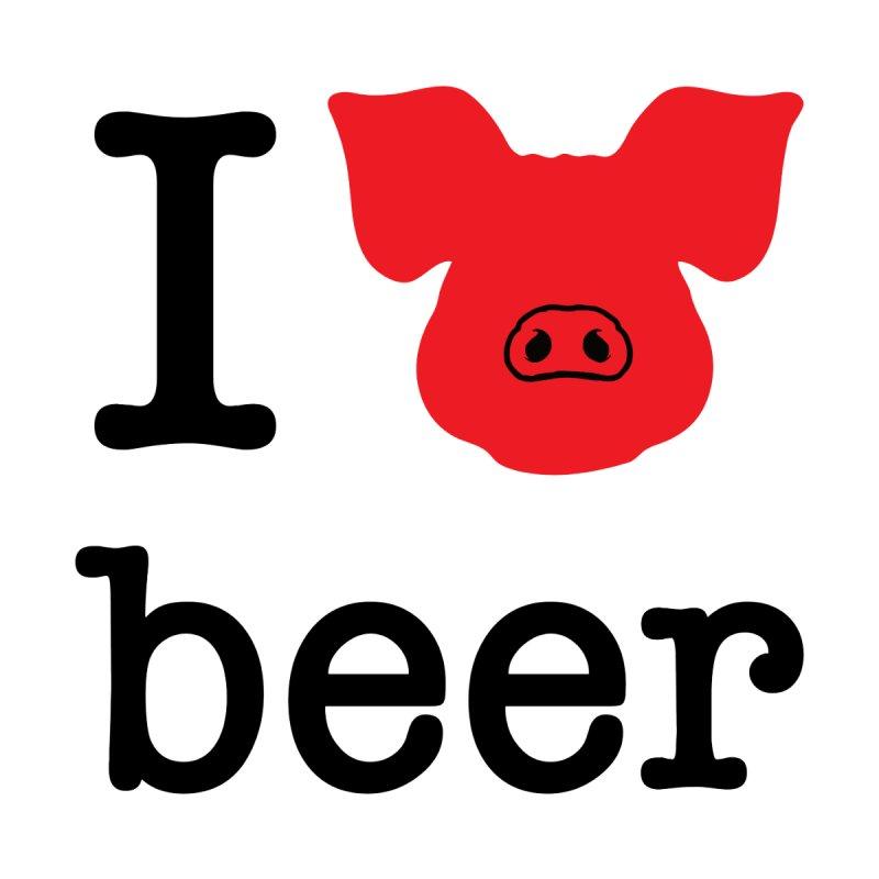 I PIG beer Men's T-Shirt by Blind Pig Brewing Emporium of Fancy Stuff & Things