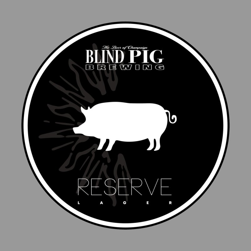 NEW Blind Pig Brewing Reserve CAN logo Men's T-Shirt by Blind Pig Brewing Emporium of Fancy Stuff & Things